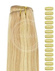 DIY zázvorová blond-svetlá blond 38 cm
