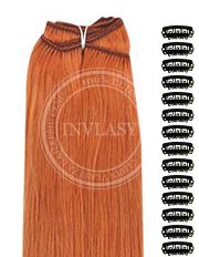 DIY zázvorová červená 38 cm | Invlasy.sk - clip in vlasy