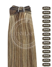 DIY stredne hnedá-zázvorová blond 61 cm | Invlasy.sk - clip in vlasy