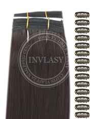DIY stredne hnedá 61 cm | Invlasy.sk - clip in vlasy