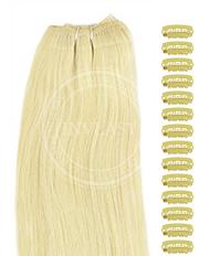 DIY najsvetlejšia blond 38 cm | Invlasy.sk - clip in vlasy