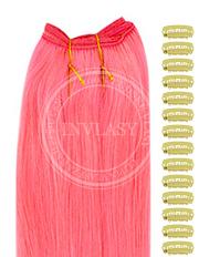 DIY ružová 51 cm | Invlasy.sk - clip in vlasy