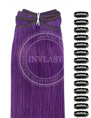 DIY fialová 38 cm | Invlasy.sk - clip in vlasy