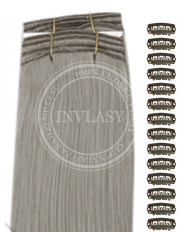 DIY strieborno šedá 38 cm | Invlasy.sk - clip in vlasy