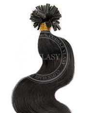 keratín vlnitý čierna 45 cm | Invlasy.sk - clip in vlasy