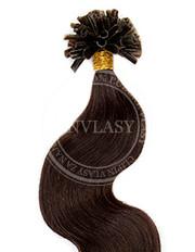 keratín vlnitý čierna prirodzená 45 cm | Invlasy.sk - clip in vlasy