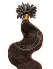 keratín vlnitý tmavo hnedá 55 cm