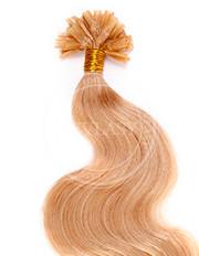 keratín vlnitý stredná blond 35 cm | Invlasy.sk - clip in vlasy