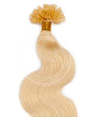 keratín vlnitý svetlá blond 45 cm