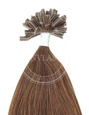keratín popolavá hnedá 55 cm | Invlasy.sk - clip in vlasy