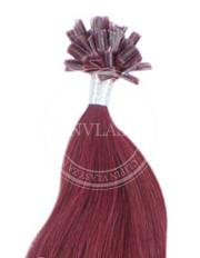 keratín višňová 55 cm | Invlasy.sk - clip in vlasy