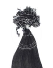 micro ring čierna 35 cm | Invlasy.sk - clip in vlasy