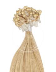 micro ring svetlá zlatá blond 45 cm | Invlasy.sk - clip in vlasy