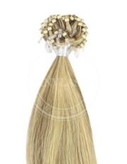 micro ring najsvetlejšia hnedá-svetlá blond 55 cm | Invlasy.sk - clip in vlasy