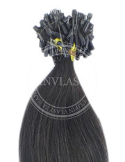 micro ring čierna prirodzená 45 cm | Invlasy.sk - clip in vlasy