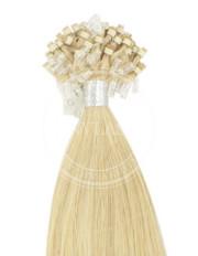 micro ring stredná blond-svetlá blond 35 cm