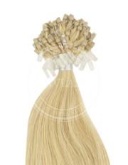 micro ring stredná blond 55 cm | Invlasy.sk - clip in vlasy