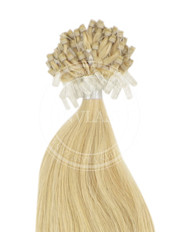micro ring stredná blond 35 cm
