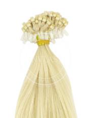 micro ring najsvetlejśia blond 55 cm | Invlasy.sk - clip in vlasy
