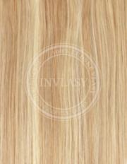clip-in zvýrazňovače svetlo hnedá popolavá-zlatá blond - svetlá 38 cm | Invlasy.sk - clip in vlasy
