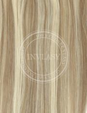 clip-in zvýrazňovače najsvetlejšia hnedá-svetlá blond 38 cm