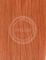 clip-in zvýrazňovače zázvorová červená 38 cm | Invlasy.sk - clip in vlasy