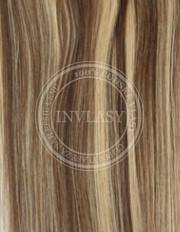 clip-in zvýrazňovače stredne hnedá-zázvorová blond 51 cm