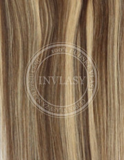 clip-in zvýrazňovače stredne hnedá-zázvorová blond 38 cm | Invlasy.sk - clip in vlasy