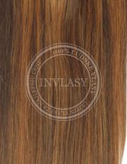 clip-in zvýrazňovače stredne hnedá-svetlo gaštanová 38 cm | Invlasy.sk - clip in vlasy