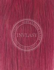 clip-in zvýrazňovače slivkovo červená 61 cm | Invlasy.sk - clip in vlasy