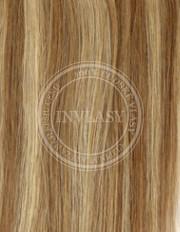 clip-in zvýrazňovače svetlo hnedá-zázvorová blond 51 cm | Invlasy.sk - clip in vlasy