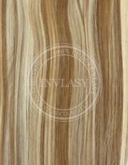 clip-in zvýrazňovače svetlo hnedá-svetlá blond 38 cm | Invlasy.sk - clip in vlasy