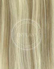 clip-in zvýrazňovače svetlo popolavá hnedá-svetlá blond 38 cm | Invlasy.sk - clip in vlasy