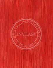 clip-in zvýrazňovače červená 61 cm | Invlasy.sk - clip in vlasy
